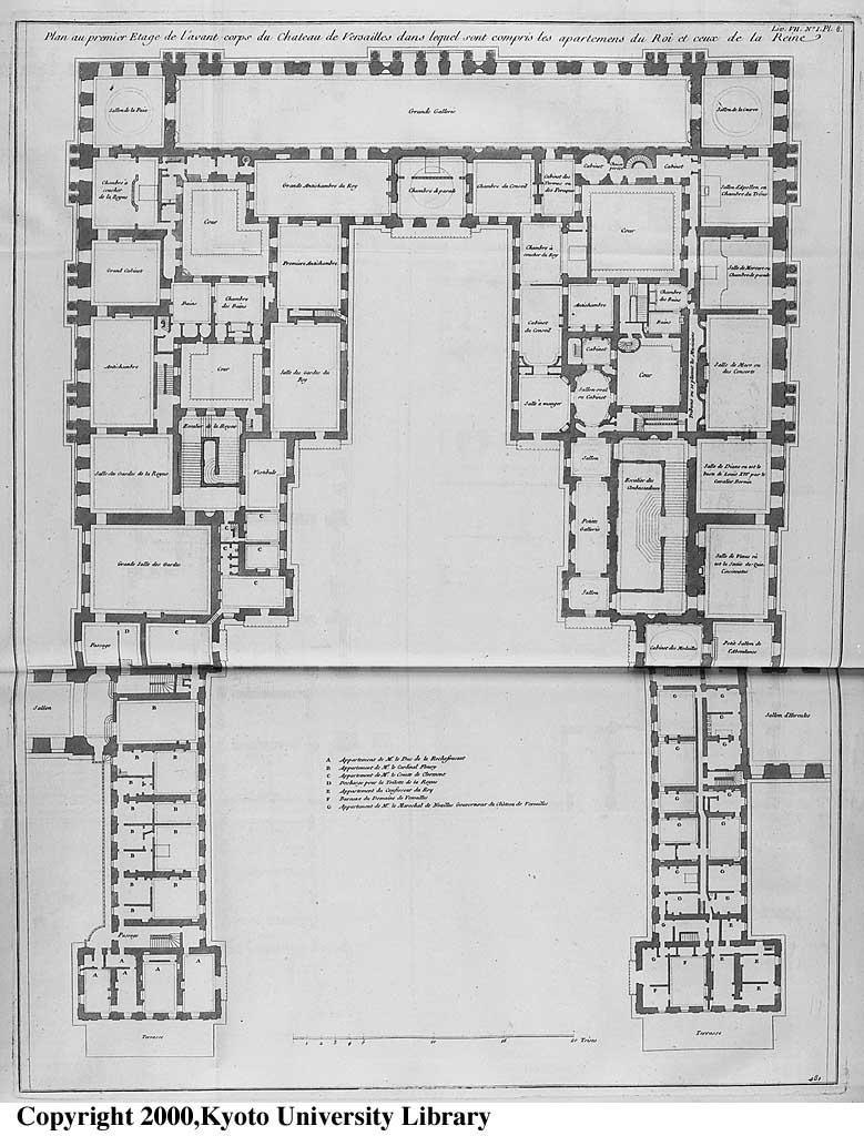 Plans Du Ch Teau De Versailles