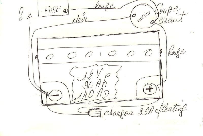 Batterie remake - Branchement coupe circuit 6 poles ...