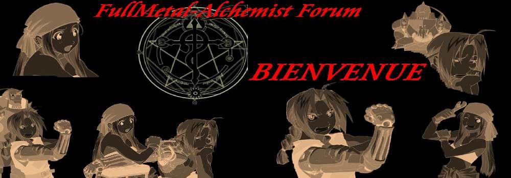 FullMetal Alchemist !!!