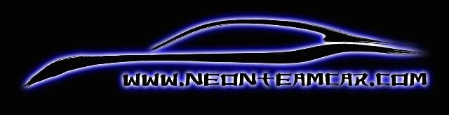 Neon Team Car