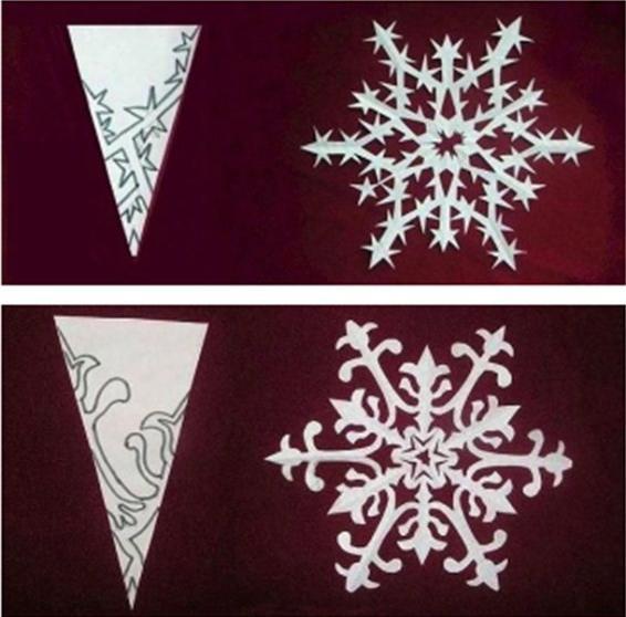 Как сделать Новогодние снежинки своими руками?