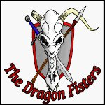 The Dragon Fisters Podcast logo
