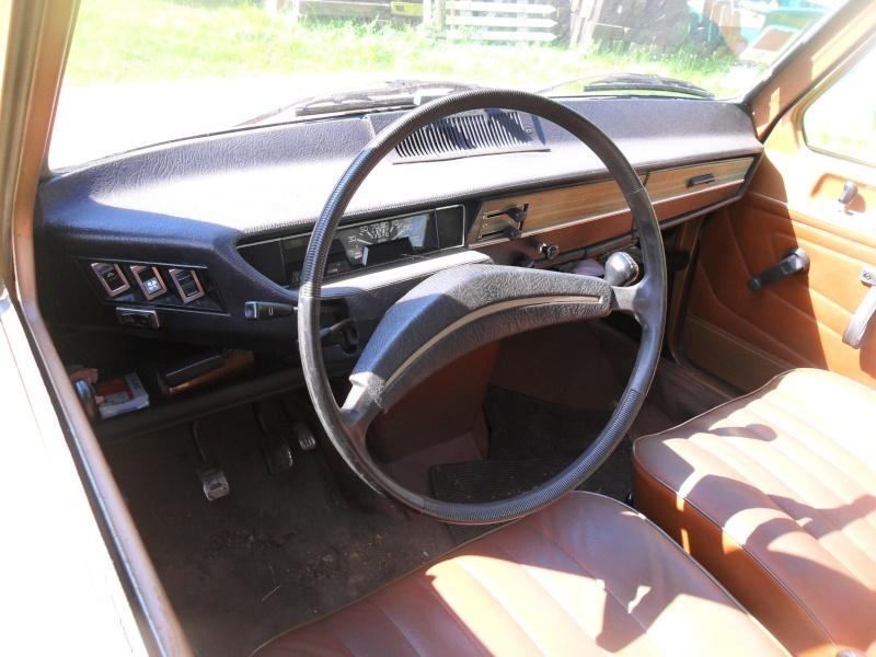 Ma renault 6 l de 1976 for Renault 6 interieur
