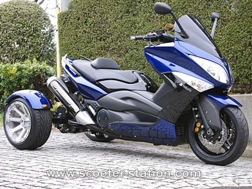 yamaha tmax 500 trois roues le trike tri max. Black Bedroom Furniture Sets. Home Design Ideas