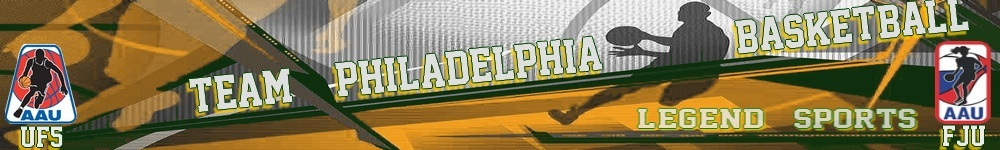 TEAM PHILADELPHIA LEGEND SPORTS BASKETBALL