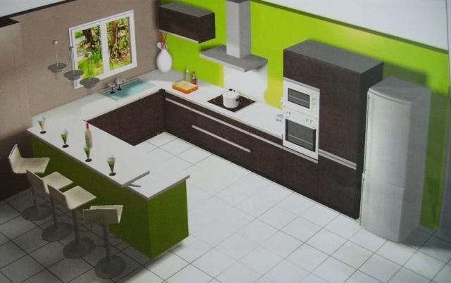 besoin aide d co pi ce vivre avec cuisine ouverte. Black Bedroom Furniture Sets. Home Design Ideas