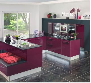 Idee cuisine ouverte sejour idee deco cuisine ouverte sur - Agencement cuisine ouverte sejour ...