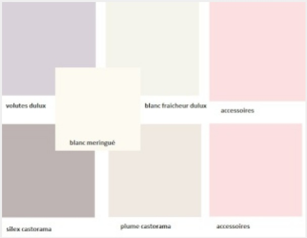 DavausNet  Peinture Chambre Fille Gris Et Rose  Avec Des Ides