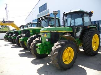 Venta de tractores de ocasion john deere segundmano en for Tractores en almeria
