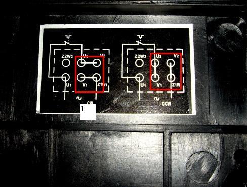 Cablage moteur 220v avec condensateur