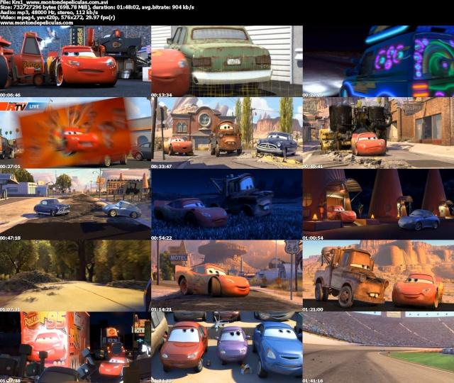 Cars 1 Y 2 [DVDRip Español Latino] Descargar & Ver Online