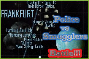 Battle in Frankfurt