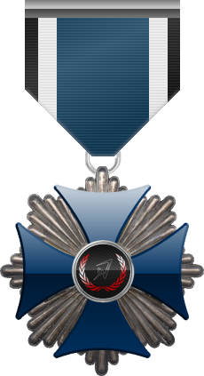 Blue Cross of the Silver Arrows, level silver