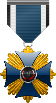Blue Cross of the Silver Arrows, level gold