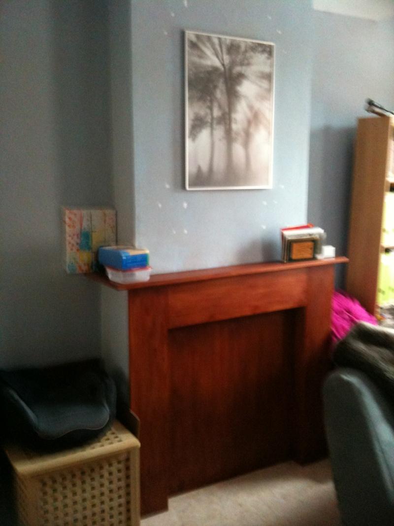 work in progress ... couleurs et déco bureau / chambre damis
