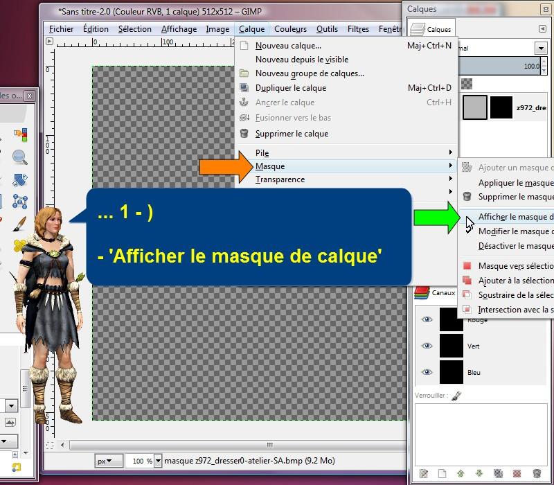 S3oc s3pe tsrw cr ation modification d 39 objets sims for Afficher fenetre calque gimp