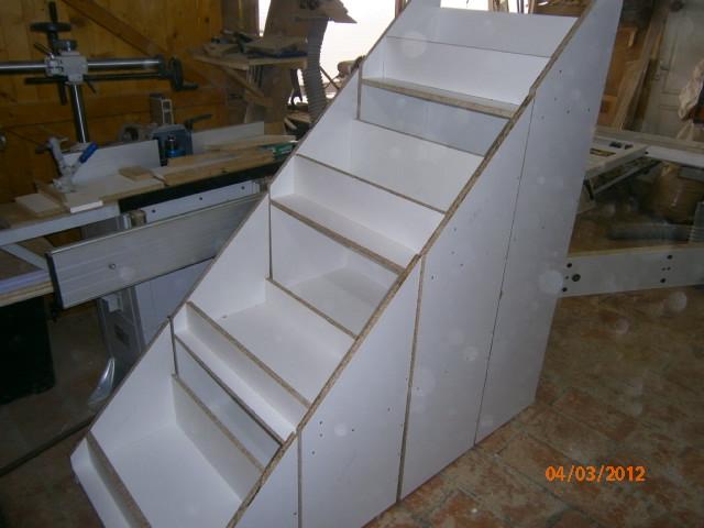 Placards coulissants sous escalier car tuning - Placard coulissant sous escalier ...