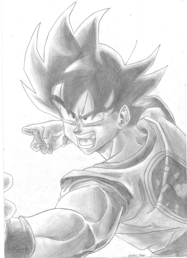 Dessins dragon ball z - Modele dessin dragon ...