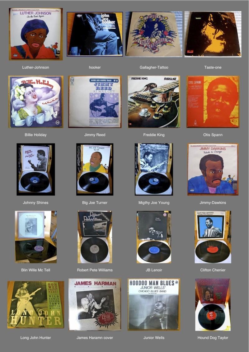 Les Pochettes des albums