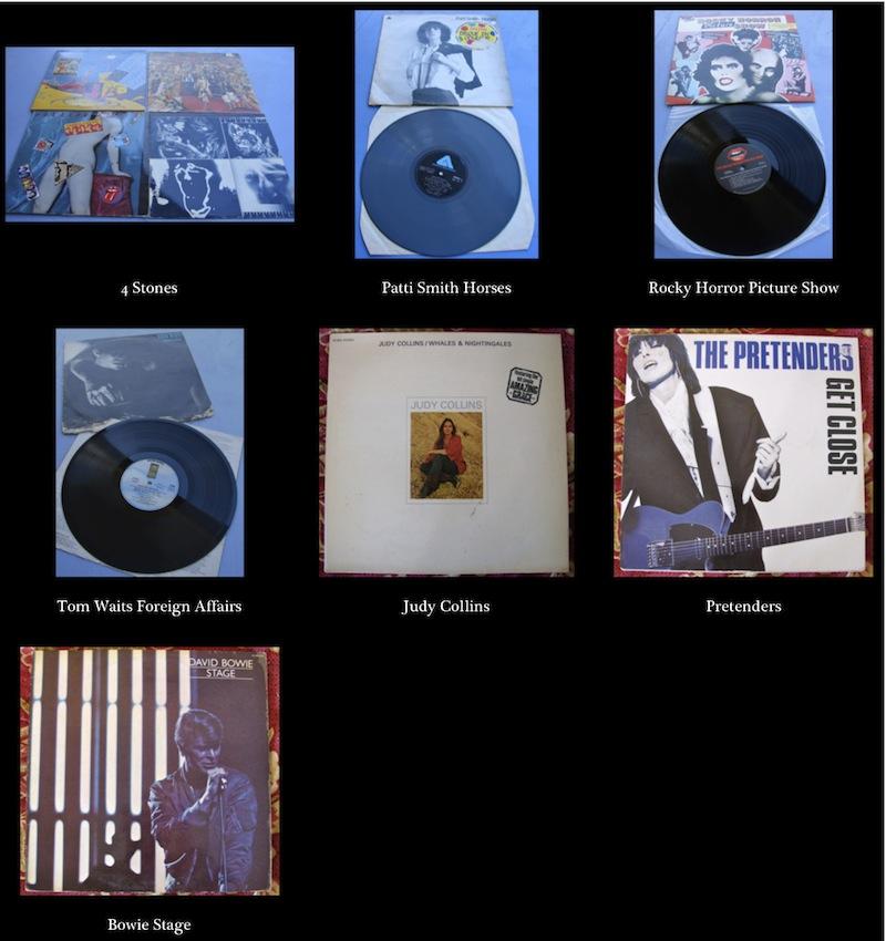 photos des albums