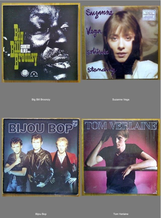 Récolte vinyle du 27 août - Tom Verlaine, Suzanne Vega, Big Bill Broonzy et Bijou