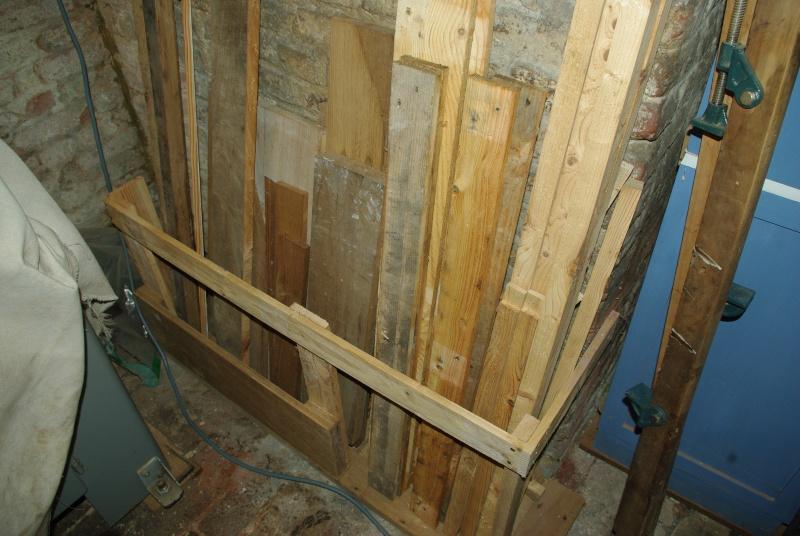 Rack chute - Caisse pour ranger le bois ...