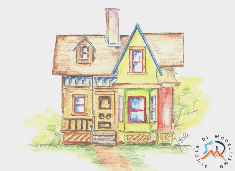 La casa di ellie carl fredriksen maruzzella - Disegno progetto casa ...