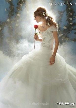 Moi qui as pour projet que lon se marie mon homme et moi et que je voudrais minspirer de le robe de belle je croit avoir trouver ma robe de mariee