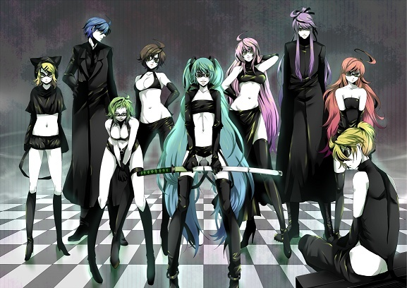 groupe  vocaloid