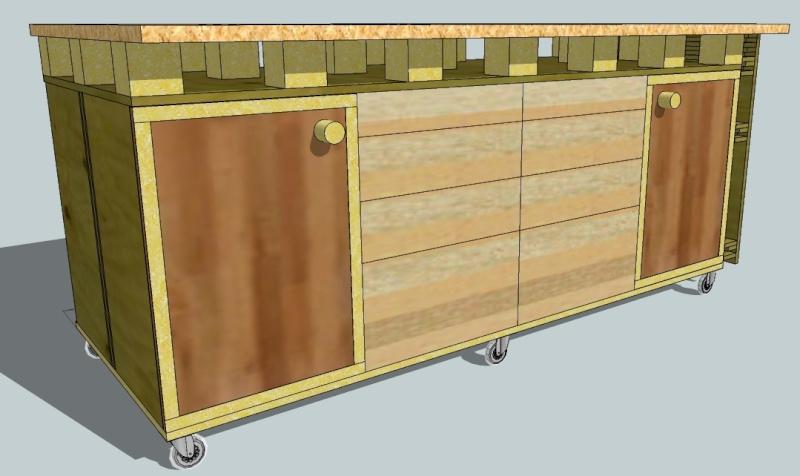 etabli servante xxl besoin de vos avis. Black Bedroom Furniture Sets. Home Design Ideas