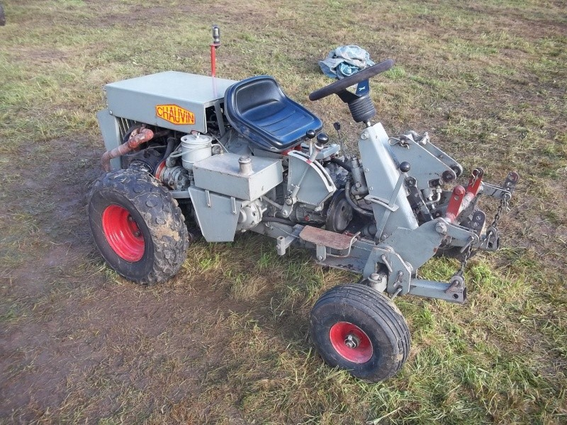 Chauvin page 2 - Tracteur tondeuse coupe frontale d occasion ...