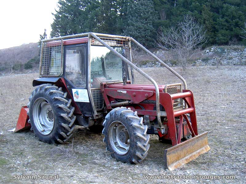 modification massey ferguson 50a en tracteur forestier. Black Bedroom Furniture Sets. Home Design Ideas