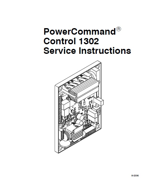 Cummins Power Command Control Service Auto Repair Manual