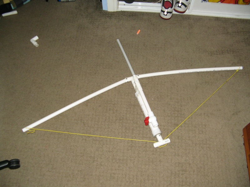 Homemade pvc sex porn images for Pvc pipe bow plans