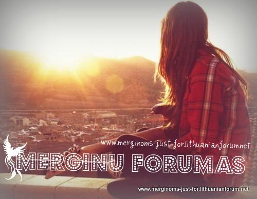 Merginų forumas.
