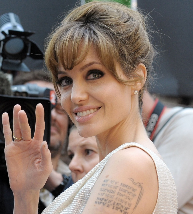 Angelina Jolie's right hand.