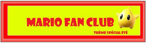 Mario Fan Club