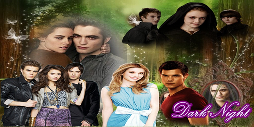 Dark Night : The diaries Vampire y Twilight