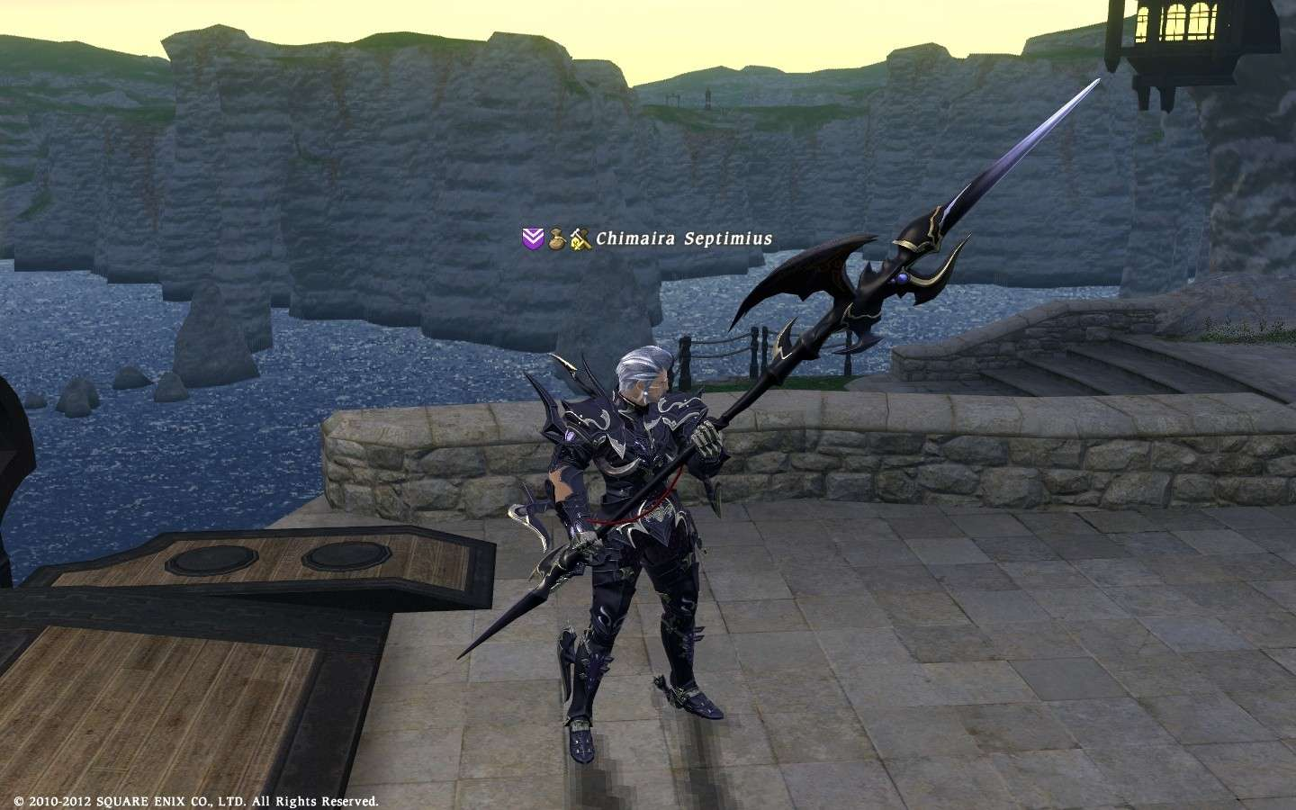 DRG AF Weapon instead Ifrit's Harpoon