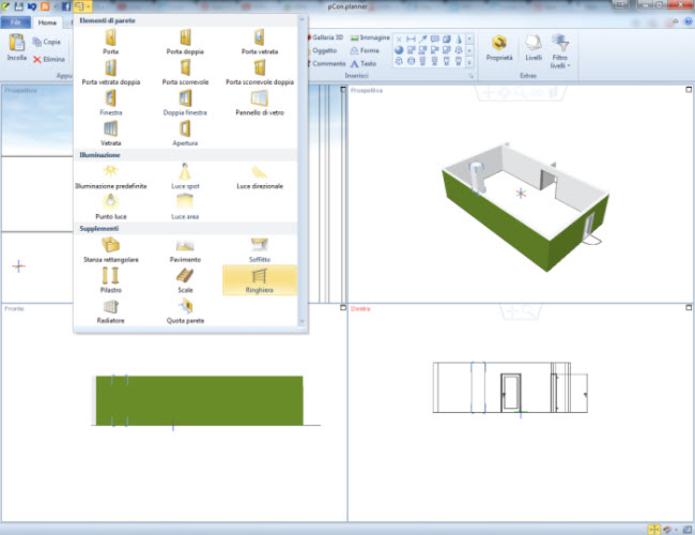 Come progettare stanze edifici ecc in 3d gratuitamente for Progettare stanza 3d