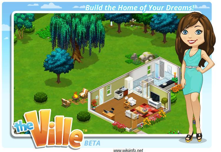 Giocare con una seconda vita virtuale su facebook the ville for Gioco arredare casa virtuale