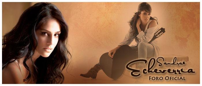 Sandra Echeverria Oficial Site