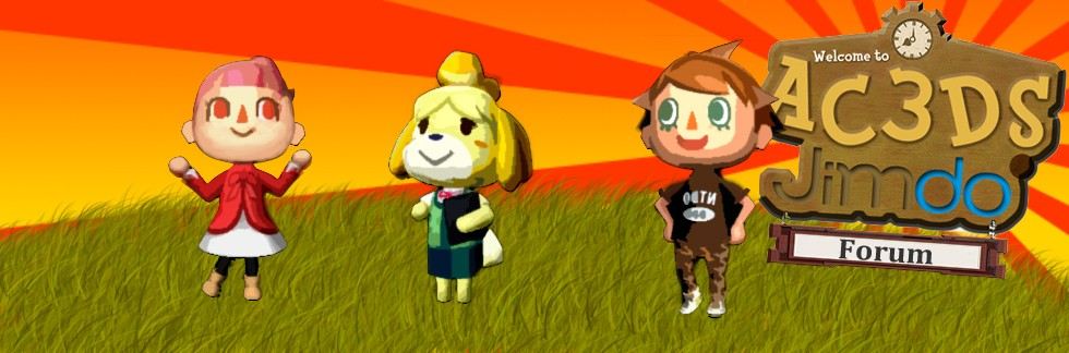 Animal Crossing 3D