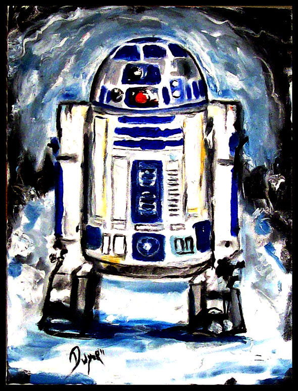 FS: My Star Wars Paintings For Sale