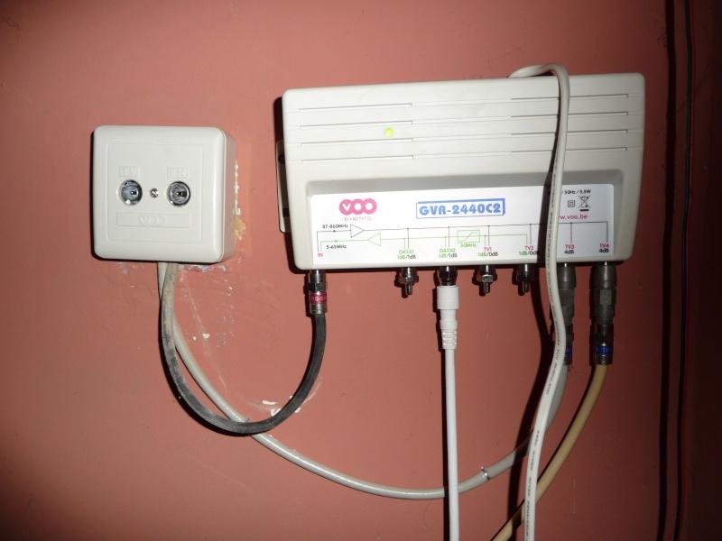 Adsl bc consulter le sujet modem netgear cg3100 - Comment rallonger un cable tv ...