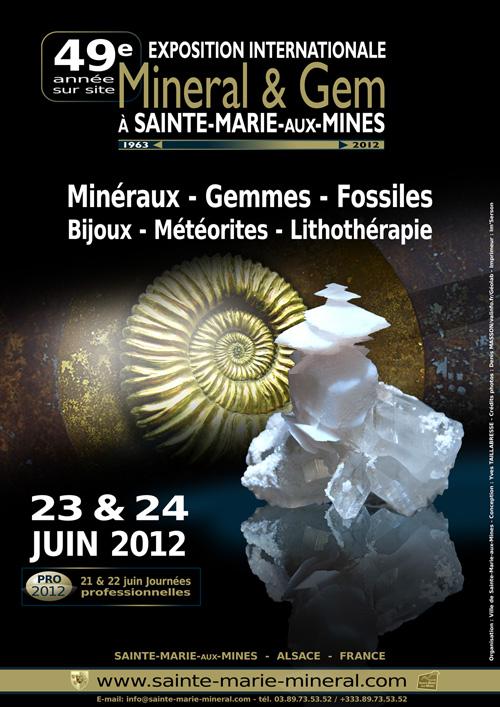 Mineral gem sainte marie aux mines page 2 - Salon mineraux sainte marie aux mines ...