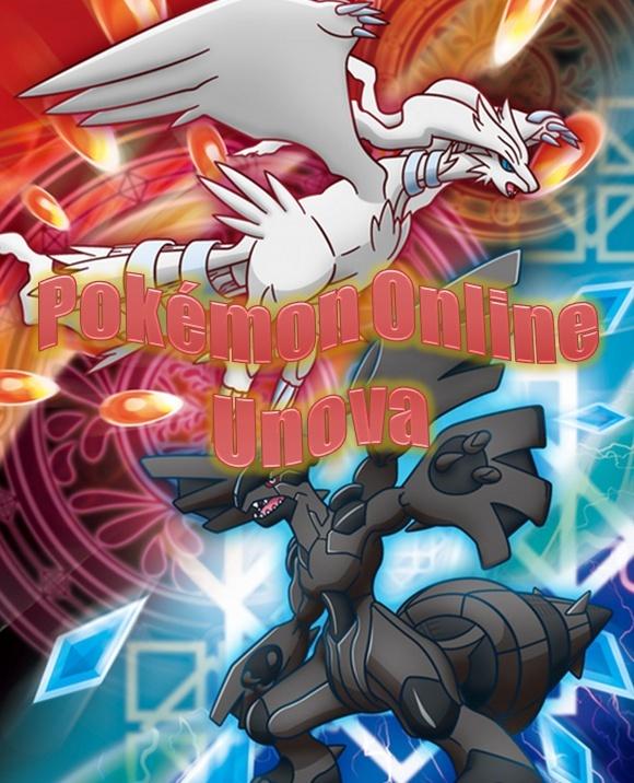 pokémon online região de Unova
