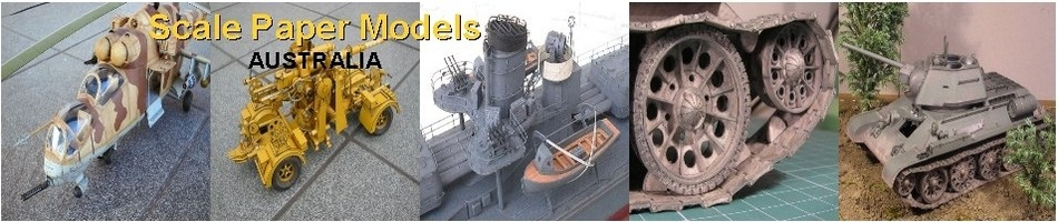 Scale Paper Models