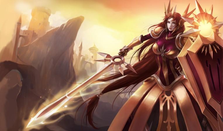 Leona the radiant dawn