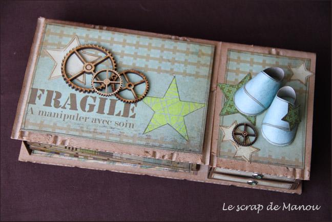 Bo te cadeau naissance gar on le blog de manou for Boite de rangement bebe garcon